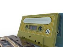 盒式磁带 图库摄影