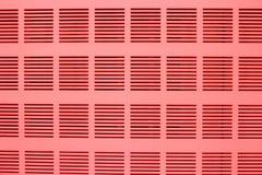 盒盖机架内阁电源(与树荫红色)。 免版税图库摄影