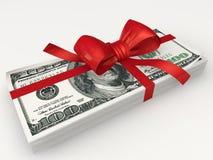 盒美元 免版税库存图片