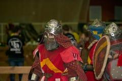 盔甲的骑士 免版税库存图片
