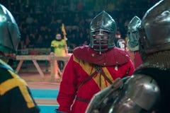 盔甲的骑士 免版税图库摄影