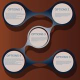 盖子传染媒介设计模板集合飞行物 图库摄影