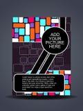 盖子创造性的设计传单介绍 库存图片