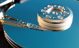 盖子困难的磁盘驱动器 免版税库存照片