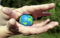 盖子地球 免版税库存图片