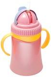 盖子杯子塑料紫色sippy紫罗兰 图库摄影