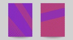 盖子的创造性的抽象几何纹理 库存照片