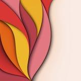 盖子设计。 五颜六色的背景 免版税库存照片