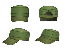 盖帽军人 向量例证