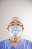 盖帽医生屏蔽洗刷外科 图库摄影