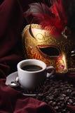 盖帽咖啡 免版税库存图片