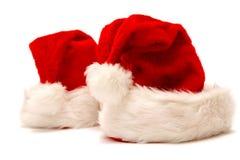 盖帽圣诞老人 库存照片