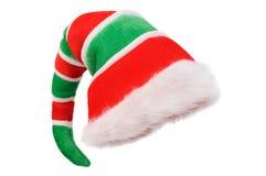 盖帽圣诞节地精 免版税库存照片
