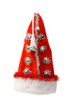 盖帽圣诞节红色 库存图片