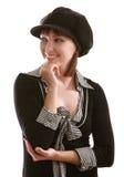 盖帽妇女 免版税库存照片