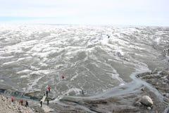 盖帽格陵兰冰 免版税库存图片