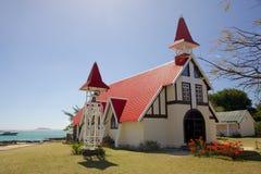 盖帽的Malheureux,毛里求斯教会 免版税图库摄影