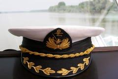 盖帽船长 免版税库存照片