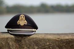 盖帽警察 库存照片