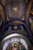 盖拉族placidia陵墓的马赛克在Ravenn 免版税库存照片