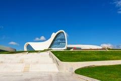 盖达尔・阿利耶夫中心博物馆在巴库,阿塞拜疆 库存图片