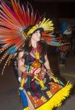 盖洛普部落间的印地安仪式 免版税库存图片