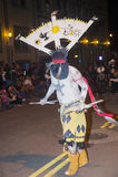 盖洛普部落间的印地安仪式 库存图片