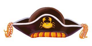 盗版一套的帽子儿童的玩具 免版税库存照片