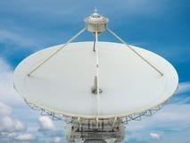 盘例证查出的卫星向量白色 图库摄影