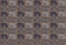 盘区木灰色饱经风霜的块的纹理被堆积 库存图片