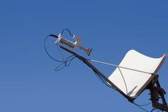 盘卫星 免版税图库摄影