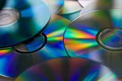盘堆 免版税库存图片
