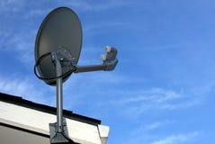 盘家庭卫星 免版税库存图片