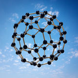 盘旋的分子 图库摄影