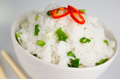 盘米 免版税库存图片