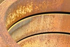 盘绕钢 免版税库存照片