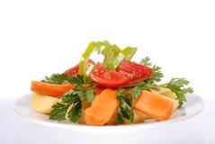 盘蔬菜 库存照片