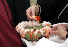 盘虾 免版税库存照片