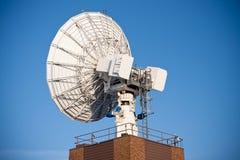 盘行业卫星 免版税库存图片