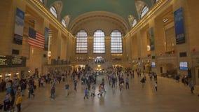 盛大中央驻地的通勤者在纽约 影视素材