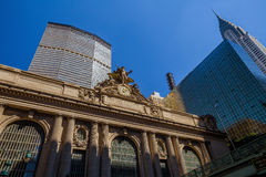 盛大中央驻地在纽约 库存照片