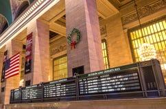 盛大中央终端,纽约 库存照片