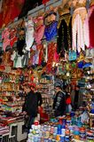 盛大义卖市场,伊斯坦布尔,土耳其 免版税库存照片