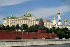 盛大克里姆林宫宫殿在莫斯科 库存照片