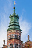 盛大军械库在格但斯克,波兰 免版税库存照片