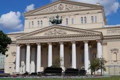 盛大剧院在莫斯科 免版税图库摄影