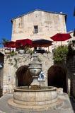 盛大喷泉, St保罗deVence 免版税库存图片