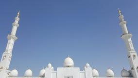 盛大回教族长Zayd Mosque 免版税库存图片