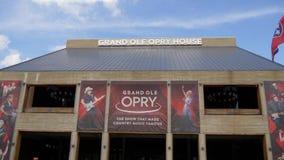 盛大好极了Opry在纳稀威-纳稀威,美国- 2019年6月16日 股票录像