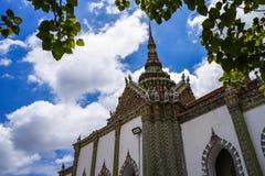 盛大宫殿和曼谷玉佛寺,曼谷,泰国 免版税库存图片